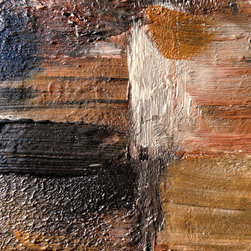 Wall Art, Abstract Painting, Art Print, Painting, Metal Wall Art GROUNDED - Holly Anderson Artist.