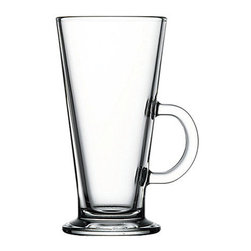 Hospitality Glass - 5.75H x 3T x 2 3/4B 8.75 oz Irish Coffee Glasses 12 Ct - 8.75 oz Irish Coffee