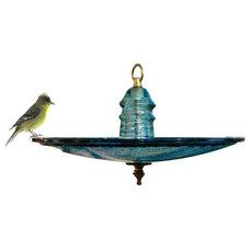 Eclectic Bird Baths by Railroadware