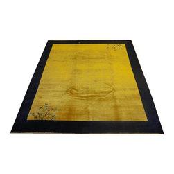 Chinese Peking Carpet, 10' x 8' - Wool pile hand made very fine Chinese Peking carpet.