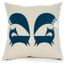 Contemporary Decorative Pillows by Howkapow