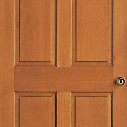 Authentic Wood Doors - Vertical Grain Douglas Fir 3/4 Hip Raised Four Panel