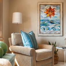 Contemporary Bedroom by Debra Lynn Henno Design