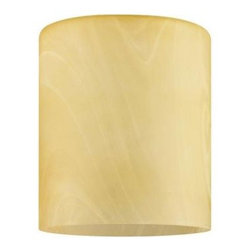 Westinghouse - Westinghouse 6-1/2 in. x 4-13/16 in. Brushed Nickel Perforated Metal Neck Less A - Shop for Lighting & Fans at The Home Depot. This Westinghouse 5-15/16 in. x 5-1/8 in. Hand blown Amber Drum features a cylindrical shape and textured amber color that adds refined presence to any interior. Westinghouse's customizable products inspire creativity for quick and easy home upgrades. Choose your shade, select your fixture and finish, and enjoy your new custom lighting. This glass shade will fit any pendant requiring a neck less shade with a 2-1/4 in. opening. Add this shade to a mini pendant in your kitchen, over a bar, or in a bedroom. Wherever you place it, you will enjoy the shade's warm coloring. The shade is 5-15/16 in. high x 5-1/8 in. in diameter. The handcrafted nature of glassware produces minor differences in design and sizing. Subtle variations will occur from piece to piece, adding to each one's unique qualities. Measurements may vary slightly.