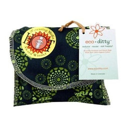 Eco Ditty Snack Bag - Eyes Of The World - eco ditty is the award winning snack bag! The perfect size for snacking. Compact and easily adjustable to handle all varieties of snacks.