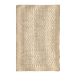 Safavieh - Natural Fiber Sisal Rug (6 ft. x 4 ft.) - Size: 6 ft. x 4 ft. Traditional style. Power loomed. Soft and durable. Made from sisal. Ivory and beige color. Made in India. This densely woven rug will add a warm accent and feel to any home. Care Instructions: Vacuum regularly. Brushless attachment is recommended. Avoid direct and continuous exposure to sunlight. Do not pull loose ends; clip them with scissors to remove. Remove spills immediately; blot with clean cloth by pressing firmly around the spill to absorb as much as possible. For hard-to-remove stains professional rug cleaning is recommended.