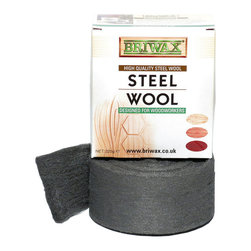 Briwax international - Briwax Steel Wool Grade 0000 Extra Fine Oil Free 225g Roll - Briwax Extra Fine Steel Wool is made to the highest standard for professionals and the best steel wool recommendation for waxing antiques and fine wood furniture.
