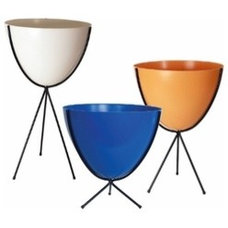 Modern Indoor Pots And Planters by YLiving.com