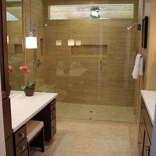 Bathroom by Rebecca Ward Design