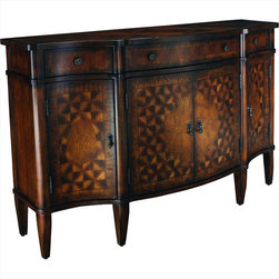 "Hammary - Hidden Treasures Console Table - ""Hammary's Hidden Treasures collection is a fine assortment of unique accent pieces inspired by some of the greatest designs the world over. Each selection is rich in Old World icons and traditions."