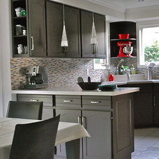 Contemporary Kitchen by Melissa Condotta | Folklore Studio