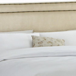 Skyline Furniture Upholstered Nail Button Border Full Headboard - This bed is such a bargain and is so well-made. It comes in a variety of colors. You really can't go wrong with this.