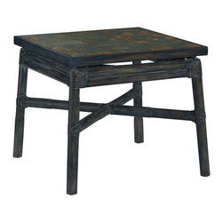 Baker Furniture - Arita Spot Table - The best spot tables work with a variety of lounge chairs-and the Arita does that very well.