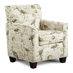Chelsea Home Furniture - Chelsea Home Genna Accent Chair in Birdsong Seamist - Genna Accent chair in Birdsong Seamist belongs to the Chelsea Home Furniture collection