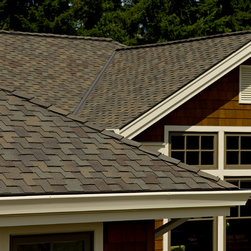 Presidential Shake shingles - shown in Autumn Blend - Get product info at http://www.certainteed.com/products/roofing/residential/luxury
