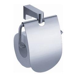 Fresca - Fresca Generoso Toilet Paper Holder - Chrome - Fresca Generoso Toilet Paper Holder - Chrome