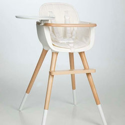 Ovo by Micuna High Chair - Now here's a high chair I'd be happy to showcase in my home. It's modern, chic, safe and sensible.