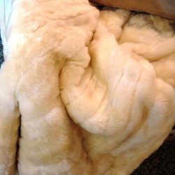 Chinchilla Fur Throw - Are the winter months making you cold just thinking about them?