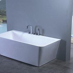 """Luciano Luxury Modern Bathtub 63"""" - Luciano  Luxury Modern Bathtub"""