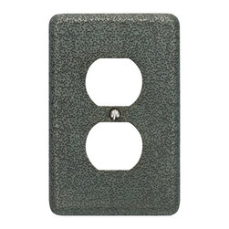 Atlas Homewares - Pewter Olde World Outlet Plate (ATHOWPOPP) - Pewter Olde World Outlet Plate