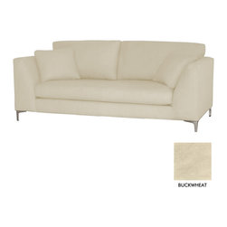 Apt2B - Mulholland Sofa, Buckwheat - Classic and cozy with a modern twist. The clean lines of the Mullholland Collection will show off your chic style without taking center stage. Dress it up with a few toss pillows or a retro lamp, and watch your space come together.