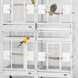 Mid-West Homes for Pets - Multi Vista Bird Cage and Expansion Package - MH127 - Shop for Bird Cages and Stands from Hayneedle.com! About Mid-West Metal ProductsIn 1921 Mid-West Metal Products made only one item a Kruse Switch Box Support and over the years began manufacturing millions of wire and sheet metal component parts. By 1960 they were producing training crates for pets. Today Midwest Homes for Pets a division of Mid-West Metal Products produces and markets a variety of pet containment products. These products include dog crates training puppy crates dog kennels cat playpens bird cages vehicle barriers soft-sided carriers grooming tables and much more. They also manufacture a full line of pet accessories like beds and feeding dishes.