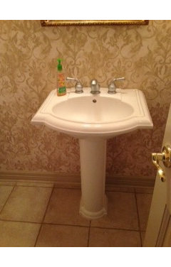 I am looking for ideas to makeover our powder room into something ...