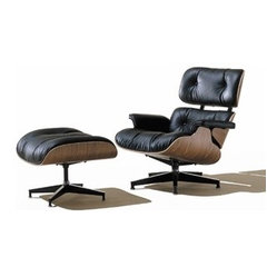 Herman Miller | Eames® Lounge Chair with Ottoman
