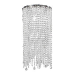 """Masiero - Masiero VE 812/A2 G Wall Sconce - The VE 812/A2 G wall sconce by Masiero has been designed by Studio Stile Masiero. Masiero hand-made lamps stylish  modern  design. Masiero a unique combination of conventional material (Murano glass  swarovski crystal and asfour  crystal, silk,ceramics) and modern minimalist design. The result is a product that is a precious decorative object and transmits a sensation of elegance and exclusivity; it makes one understand the great experience of Masiero craftsmen in the working of materials and the innovation of a design that gives a uniqueness to each item.   Product description:  The VE 812/A2 G wall sconce by Masiero has been designed by Studio Stile Masiero. Masiero hand-made lamps stylish  modern  design. Masiero a unique combination of conventional material (Murano glass  swarovski crystal and asfour  crystal, silk,ceramics) and modern minimalist design. The result is a product that is a precious decorative object and transmits a sensation of elegance and exclusivity; it makes one understand the great experience of Masiero craftsmen in the working of materials and the innovation of a design that gives a uniqueness to each item.   Details:      Manufacturer:     Masiero      Designer:    Studio Stile Masiero        Made in:    Italy      Dimensions:     Height: 23.62"""" (60 cm) X Length: 11.81"""" (30 cm) X Depth: 5.11"""" (13 cm)         Light bulb:     2 X E14 Max 60W Incandescent        Material:     Metal,crystal"""