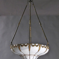 Eclectic Ceiling Lighting by GenuineAntiqueLighting.net