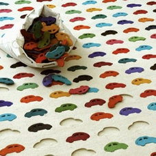 eclectic kids rugs by Youlka Design