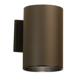 Kichler - Kichler No Family Association Outdoor Wall Mount Light Fixture in Bronze - Shown in picture: Outdoor Wall 1Lt in Architectural Bronze