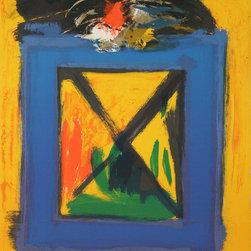 Hyman, abstract, Lithograph - Artist:  Hyman