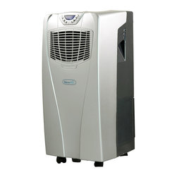Newair Appliances - NewAir Appliances Portable Air Conditioner - Dropping the temperature of any room is a breeze with this UL-listed portable air conditioner from NewAir. It's 38 inches wide and can circulate 300 cubic feet per minute, making it ideal for use in rooms up to 325 square feet in area.