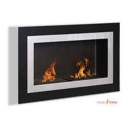Moda Flame - Moda Flame Ronda Wall Mounted Ethanol Fireplace - Moda Flame ethanol fireplaces do not require any installation or utility connection for fuel supply which makes it ideal for almost any architectural environment. This fireplace is idea for condo, apartment, single family home, restaurants and hotels. The fireplaces are fueled by a renewable modern energy named denatured ethanol, which burns free, emits no fumes, is environmentally friendly and is virtually maintenance free.