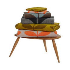 contemporary towels by Orla Kiely