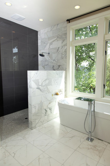 contemporary bathroom by Whitney Lyons