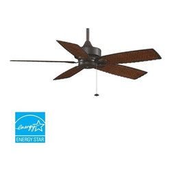 """Fanimation - Fanimation FP8012 Cancun 52"""" 5 Blade Outdoor Ceiling Fan - Blades Included - Included Components:"""