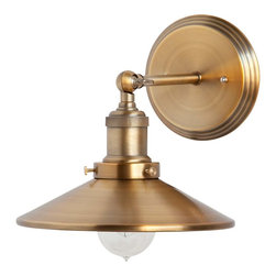 Mika Gold Vintage Wall Sconce - Mika Gold Vintage Wall Sconce