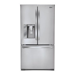LG 30.5 cu ft French Door Refrigerator (Stainless Steel) ENERGY STAR - 30.5 cu ft French Door Refrigerator (Stainless Steel) ENERGY STAR