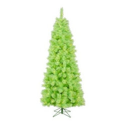 Lime Cashmere Pre-Lit LED Christmas Tree