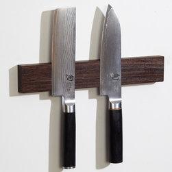 """M.O.C. Board Wenge - 12"""" Wenge Magnetic knife strip"""