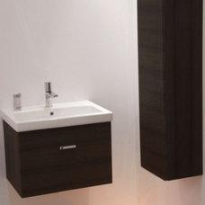 Contemporary Bathroom Storage by Plumbonline