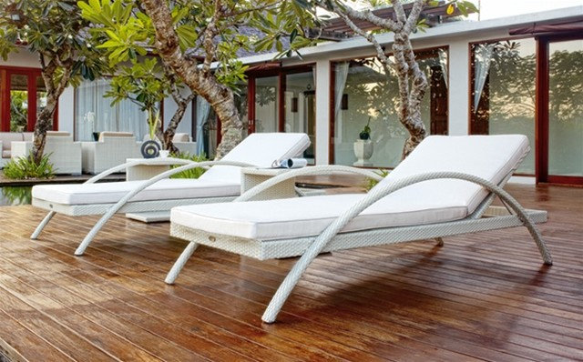 Modern Outdoor Chaise Lounges by DefySupply.com