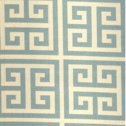 Towers Fabric - I can picture two small stools covered in this fabric under a console in a foyer.