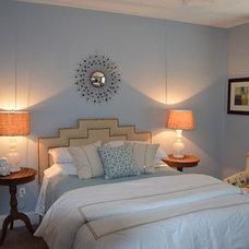 Contemporary Bedroom by Erika Bonnell Interiors