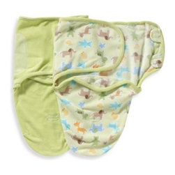 Summer Infant - Summer Infant SwaddleMe Zoo Small/Medium 100% Organic Cotton Infant Wrap (Set of - Wrap your baby in the comfort of this soft cotton infant wrap. SwaddleMe soothes infants and reduces symptoms of colic by recreating the familiar, soothing snugness of the womb.