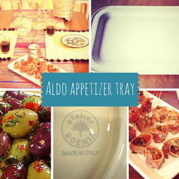Aldo Italian appetizer tray - You'll love this traditional Italian aperitivo tray perfect for any occasion!