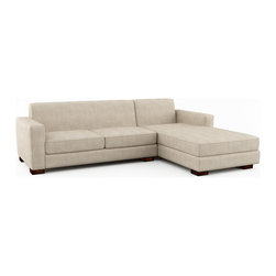 Viesso - Brenem Chaise Sectional (Eco-Friendly) - For simplicity's sake. People often tell us they like the Brenem sectional sofa because it's very simple in its design and a great example of modern furniture. A timeless modern sofa design that will look stylistically relevant years from now.