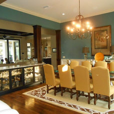 Traditional Dining Room by Marmer Construction, Inc